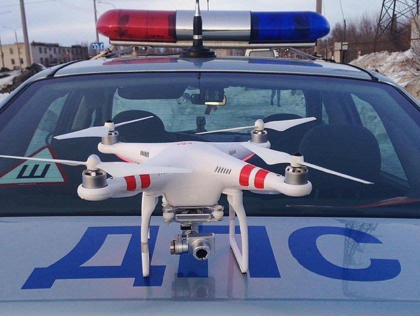 Нарушение ПДД будут фиксировать с помощью дронов